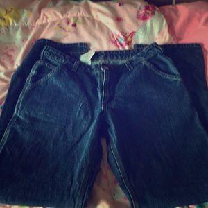 Woman's Carhartt carpenter pants size 10